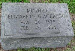 Elizabeth B Agerton