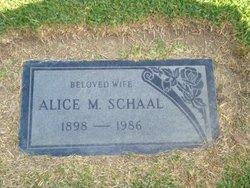 Mary Alice <i>Stigleman</i> Schaal