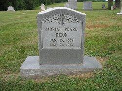 Moriah Pearl Dixon