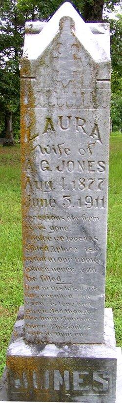 Laura A <i>Cornelius</i> Jones