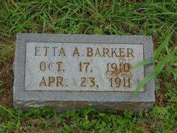 Etta A Barker