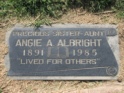 Angie Alice Albright