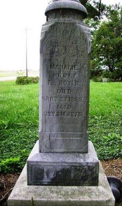 Mahalie <i>Wical or Wichel</i> Boyer