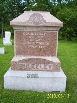 Alma O <i>Turner</i> Bulkeley