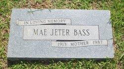 Dorothy Mae Ruth <i>Jeter</i> Bass