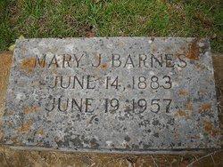 Mary Jane <i>Luke</i> Barnes