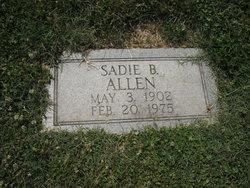 Sadie Sarah <i>Blanchard</i> Allen