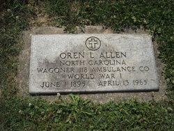 Oren L Allen