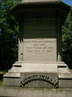 Charlotte Ann <i>Benedict</i> Buckingham
