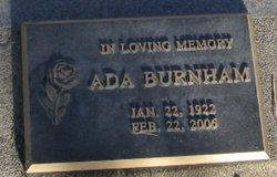 Ada Burnham