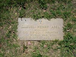 Samuel Henry Abel