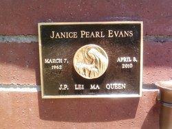 Janice Pearl Evans