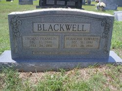 Blanchie <i>Edwards</i> Blackwell