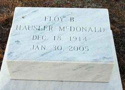 Floy B. Hausler <i>Bishop</i> McDonald