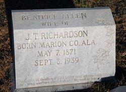 Beatrice <i>Allen</i> Richardson