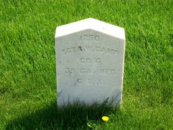 Sgt George W. Canup