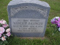 Nancy Paralee <i>Rigdon</i> Basinger
