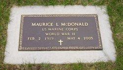 Maurice L McDonald