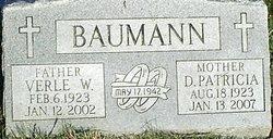 Dorothy Patricia Pat <i>Williamson</i> Baumann