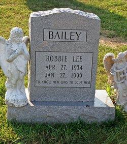 Robbie Lee <i>Wanamaker</i> Bailey