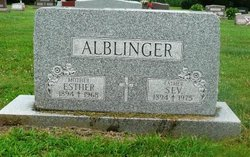 Esther <i>Huber</i> Alblinger