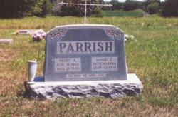 Mary Augusta <i>Zunker</i> Parrish