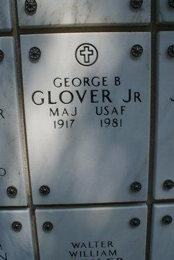 Major George B Glover, Jr