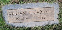 William D Garrett