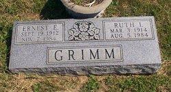 Ruth Irene <i>Cornwell</i> Grimm
