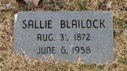 Sallie <i>Chunn</i> Blailock