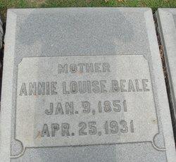Annie Louise <i>McDonald</i> Beale