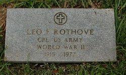 Corp Leo Frank Rothove