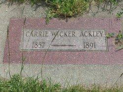 Carrie Wicker Ackley