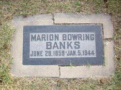 Marion <i>Bowring</i> Banks