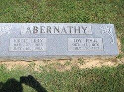 Virgie Lillie <i>Ford</i> Abernathy