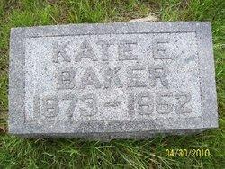 Catherine E. Kate <i>Bassett</i> Baker