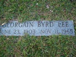 Georgain <i>Byrd</i> Lee