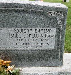 Rowena Evalyn <i>Leffel</i> Dellbrugge