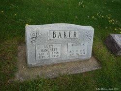 Lucinda Louise Lucy Lou <i>Hanchett</i> Baker