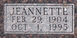 Jeannette <i>Crowther</i> Burch