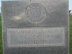 Mary F Mollie <i>Anders</i> Allred