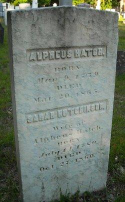 Alpheus Hatch