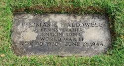 Ens Thomas Ellwood Tom Hallowell
