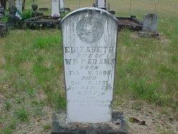Elizabeth <i>DeShazer</i> Adams