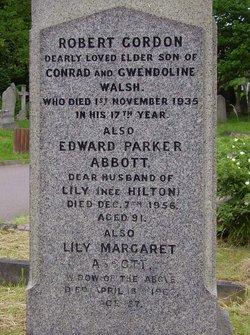 Lily Margaret <i>Hilton</i> Abbott