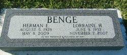 Lorraine Edith <i>Haskell</i> Benge