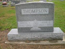 John Ellsworth Thompson