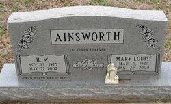 Mary Louise <i>Bryan</i> Ainsworth