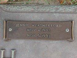 Jennie Mae <i>Reed</i> Weatherford