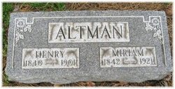 Pvt William Henry Altman